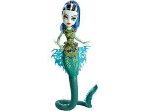Monster High Great Scarrier Reef - Glowsome Ghoulfish Frankie Stein Doll