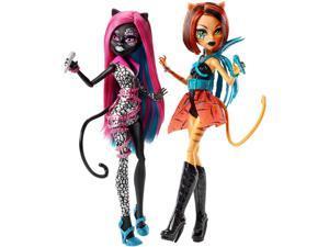 Monster High Fierce Rockers 2-Pack - Catty Noir and Toralei