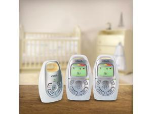 VTech Safe Digital Audio Baby Monitor with 2 Parent Units - DM223-2