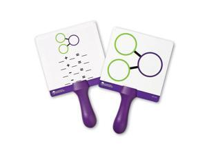 2-Sided Handheld Boards 5Pcs Ast
