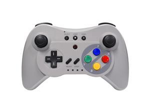 Wireless Pro Controller for Nintendo Wii U- Classic Gray