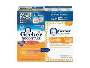 Gerber Good Start Stage 1 Gentle Non-GMO Powder Infant Formula 23.2 - 2 Pack