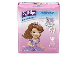 Pull-Ups Cool and Learn Training Pants for Girls 3T-4T Jumbo Pack - 22 Count