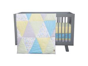 Trend Lab Triangles 3-Piece Crib Bedding Set