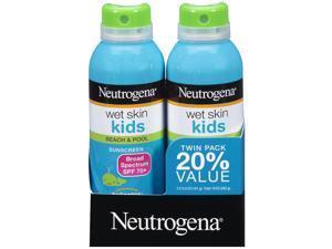 Neutrogena Wet Skin Kids Beach & Pool Sunscreen Spray with SPF - 5 Ounce Can