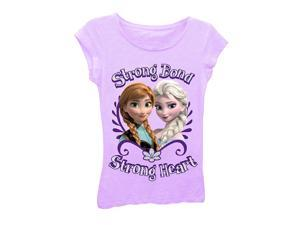 Disney Frozen Strong Bond Lilac Tee Shirt - Medium