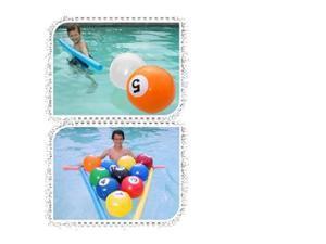 Swimways Blow Up Billiards
