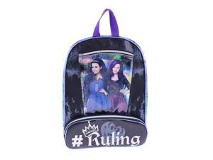 "Disney Descendants ""Ruling"" 16 inch Backpack with Two Side Mesh Pockets"
