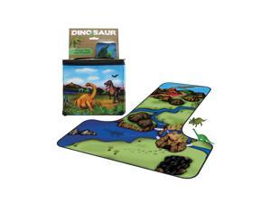 Neat-Oh! ZipBin 20 Dinosaur Tote and Playmat with 2 Dinosaurs