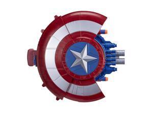 Nerf Marvel Avengers Civil War Captain America Blaster Reveal Shield