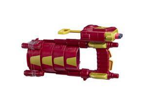 NERF Marvel Civil War Captain America Iron Man Slide Blast Armor