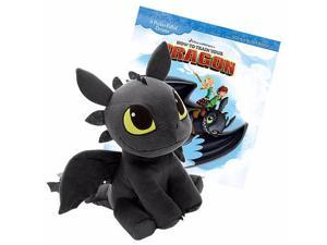 Dreamworks 12 inch How to Train Your Dragon Book and Plush