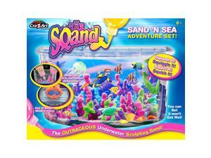 Cra-Z-Art Sqand Sand 'N Sea Adventure Sculpting Sand Set