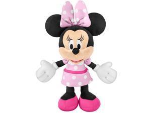 Fisher-Price 12 Inch Disney Junior Silly Squeeze Minnie - Pink/Black