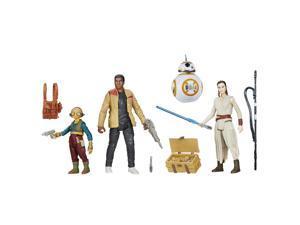 Star Wars The Force Awakens Takodana Encounter Action Figure Set