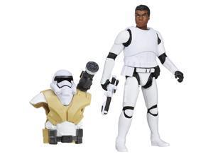 """Star Wars: The Force Awakens 3.75""""Action - Desert Mission Armor Finn FN-2187"""