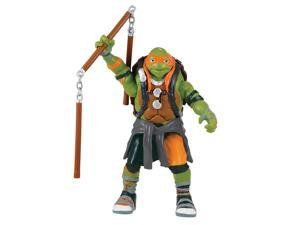 "Teenage Mutant Ninja Turtles Movie 2 6"" Talking - Battle Sounds Michelangelo"
