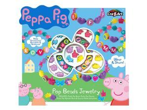 Cra-Z-Art Peppa Pig Pop Beads Jewelry Kit