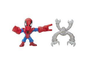 Marvel Super Hero Mashers Micro Series 1 Action Figure - Spider-Man