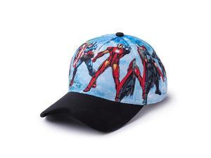 Marvel Avengers Boys Baseball Cap - Light Blue