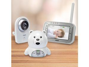 """VTech Safe and Sound 4.3""""Expandable Digital Video Baby Monitor VM341-216"""