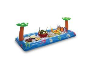 Big Mouth Toys Tropical Party Inflatable Buffet and Salad Bar