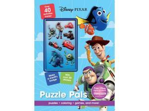 Disney Pixar Puzzle Pals Activity Book with 3D Stickers