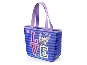 Insulated Loveable Woof Penelope Lunch Box Tote - Love