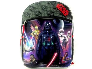 Disney Star Wars Classic Full Size Backpack with Two Side Mesh Pockets