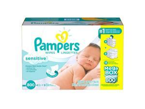 Pampers Sensitive Baby Wipes - 800 Count