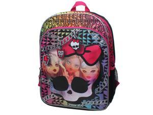 Mattel Monster High Photo Fabulous 16 inch Backpack with Side Mesh Pockets