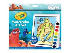 Disney Pixar Findging Dory Watercolor Art Set