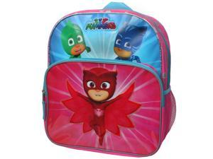 "PJ Masks Owlette, Gekko & Catboy ""Save The Day"" 14""Backpack with Side Mesh"
