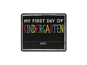 Pearhead My First Day of School Chalkboard Sign