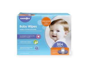 Babies R Us Unscented Baby Wipes - 864 Count