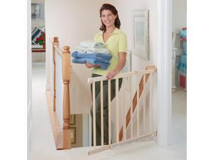 Evenflo Walk Thru Top-of-Stairs Safety Gate - Tan