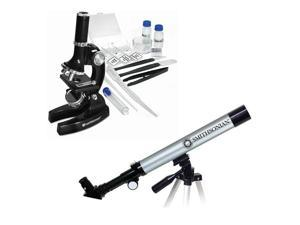 Smithsonian Telescope and Microscope Optics Value Pack