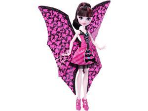 Monster High Ghoul-to-Bat Transformation Doll - Draculaura