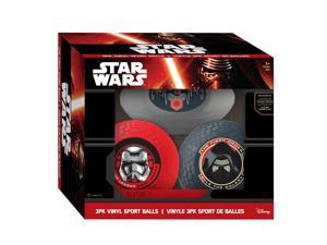 Star Wars Episode VII Vinyl Sport Balls - 3 Pack
