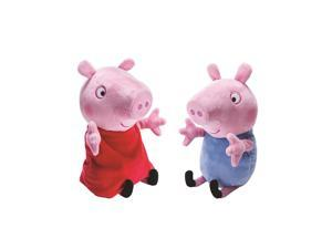 Peppa Pig Peppa and George Giggle N' Wiggle Plush