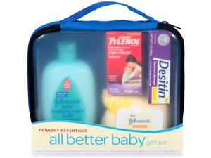Johnson and Johnson Healthy Essentials All Better Baby Gift Set