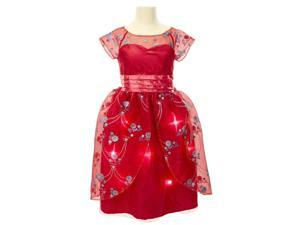 Disney Red Royal Ball Gown Dress - Elena of Avalor