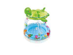 Intex Sea Turtle Shade Baby Pool - 40 inch x 42 inch