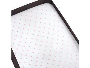 aden by aden anais Fitted Play Yard Sheet - Darling