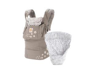 Ergobaby 3 Position Bundle of Joy with Easy Snug Infant Insert - Galaxy Grey