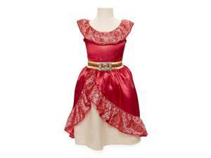 Disney Junior Elena of Avalor Adventure Dress - Child Size 4-6 X