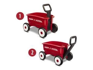 Radio Flyer My 1st 2-in-1 Wagon - Red