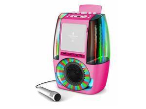 The Singing Machine Classic AGUA Karaoke System - Pink