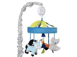 The Peanut Shell Woodland Dreams Musical Mobile