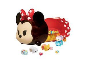 Disney Tsum Tsum Characters with Minnie Mouse Portable Case Display Set